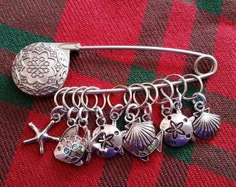 Seashore Knit Markers