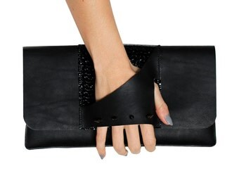 Spiked Handle Clutch