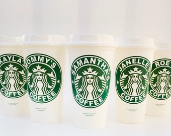 Personalized Starbucks Cup - 16 oz Starbucks Cup - Custom Starbucks Cup Gift - Personalized Reusable Starbucks Tumbler