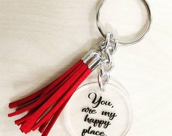 Valentine Keychain You & Me