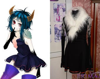 Gumi Vocaloid from Dance floor cosplay outfit