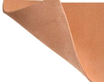 Buffalo Lleather sheet- brown 3MM THICK -FOR LEATHER crafts