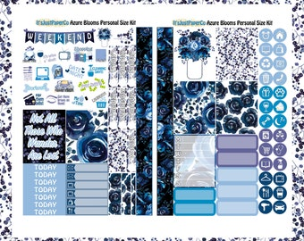 Personal Size Kit (Azure Blooms Collection)