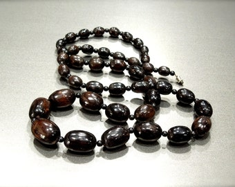 VINTAGE: Unique Handmade Bead Necklace - Gipsy - Hippie - Ethnic - SKU 13-C2-00007728