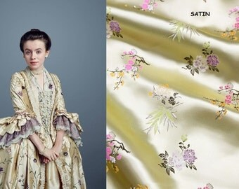 Outlander dress claire fraser marie antoinette gown rococo georgian colonial robe a la francaise 18th century