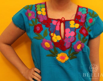 Embroidery Blouse - Handmade - Vintage - Mexican