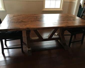 Farmhouse Trestle Tables