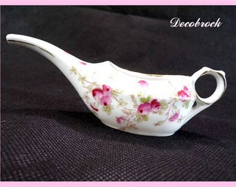 Former patient in flowery French porcelain collection objects duck medical vintage France vintagefr