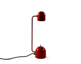 Vintage Tablelamp in Red