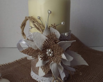 Candle Rustic Wedding Adorable Candle  Rustic Unity Candle Wedding Candle Rustic Decoration