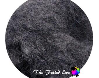 Needle Felting Wool Batt / NR8 In like Flint Carded Wool Batt