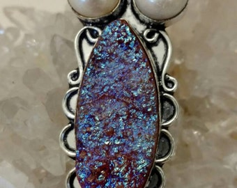 CLEARANCE * Beautiful Druzy Necklace