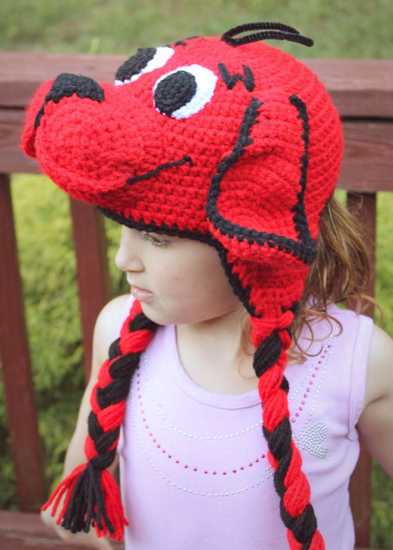Clifford The Big Red Dog Crochet Pdf Pattern Clifford