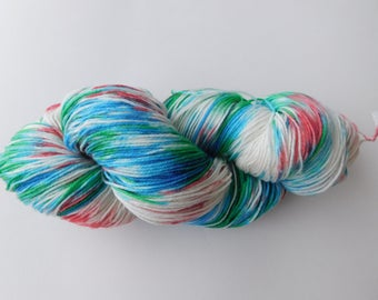 Liams wool hand dyed sock yarn /wool