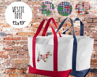 "West Highland Terrier ""westie"" Tote Bag"
