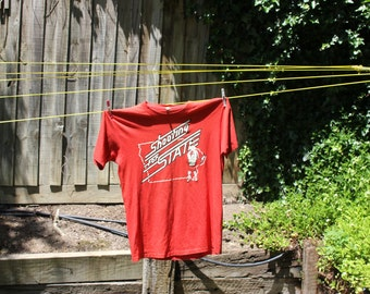 old school cool SHOOTING FOR STATE Basketballers T-Shirt