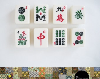 Mahjong Fridge Magnet Set