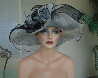 black Kentucky derby hat