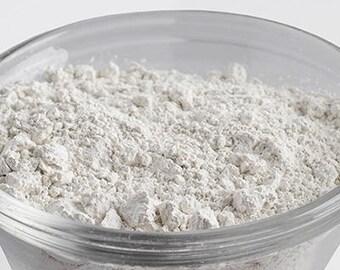 White Kaolin Clay- 8 oz net wt White Cosmetic Clay