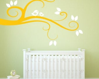 Nursery Branch - Vinyl Wall Decal Quote