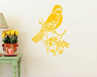 Peaceful Bird - Vinyl Wall Decal