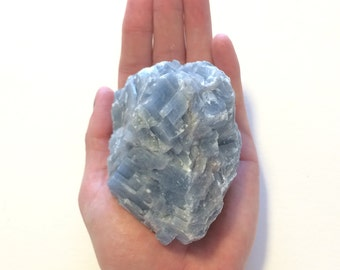 Large Blue Calcite Stone Raw