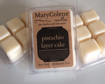 Pistachio Layer Cake Soy Wax Melts | Soy Wax Melts | Pistachio Layer Cake | Wax Melts