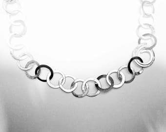Necklace-silver