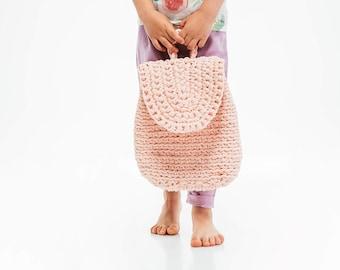 Crochet Bag / Crochet Kids' Backpack / Adults Crochet Bag