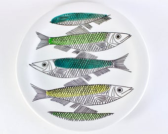 Rørstrand lunch plates made by Marianne Westmann from the serie My Garden.