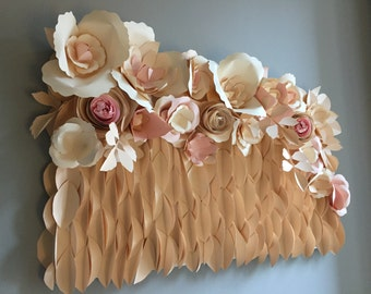 Box paper flowers
