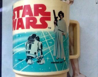 Vintage Star Wars Bathrc km bubvoom Cup