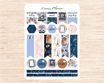Planner Girl Flags (matte planner stickers, Filofax, Kikki K, Websters Pages, Color Crush)