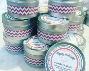 4ounce  Soy Candle Tins