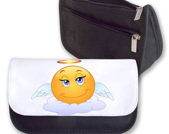 Emoji ANGEL pencil case / Make-up bag