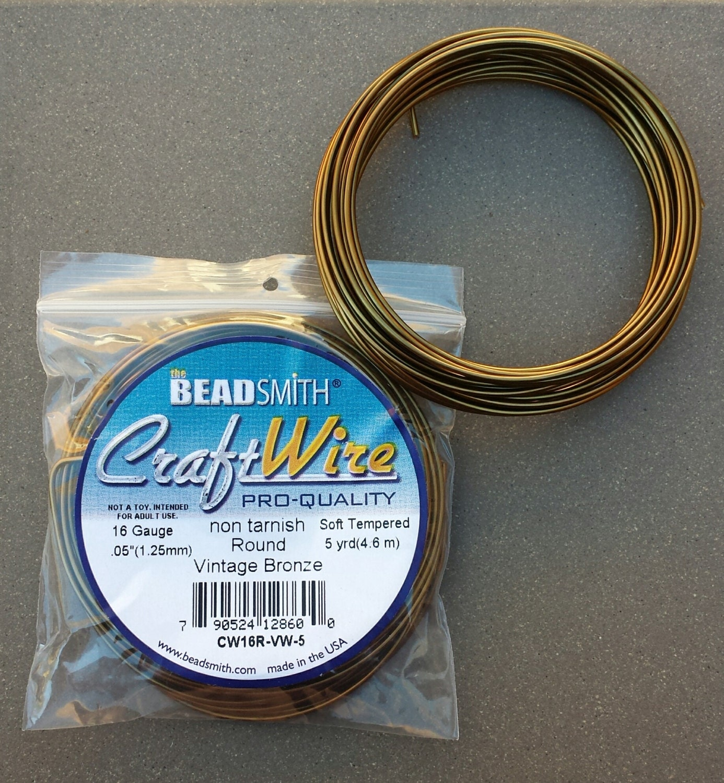 Best beadsmith craft wire 1 2 round pictures inspiration for Beadsmith craft wire 16 gauge