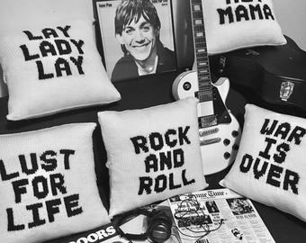 Rock and Roll Cushions