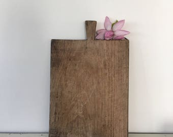 Vintage French huge, heavy  wooden bread board
