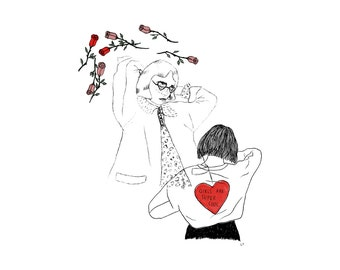 Girls Are Super Cool II Illustration