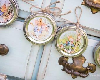 Peter Cottontail Nursery - storybook nursery - peter cottontail banner - nursery banner - bunny banner - nursery decor - woodland nursery