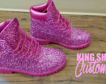 Sparkly/ Glitter Timberland Boots