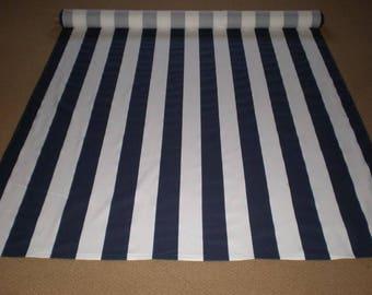 Striped aisle runner, Aisle runner, wedding aisle runner, preppy, nautical themed wedding, navy blue and white, modern, black white