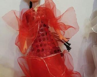 Kazakh girl doll