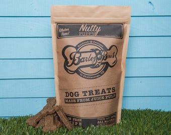 Nutty Puppy Grain Free Peanut Butter 12 oz Dog Treats by Barley Bones