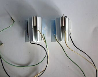 Pair of Magnavox Crossover (High Pass Filter) Units for Stereo Speaker Project - Very Good Condition
