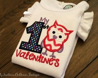 valentine applique onesie- first valentine applique onesie- baby girl valentine onesie
