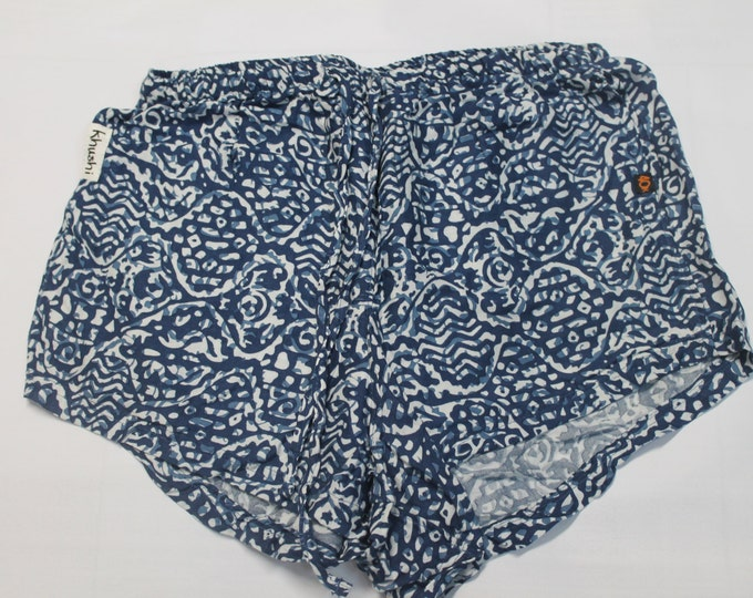 Ladies Khushi Shorts - Blue