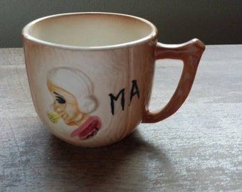 Vintage Japan Ma and Pa Coffee Cups