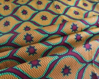 Beautiful African Print Fabric - Ankara African Print - African Fabric - Wax Print Fabric  - African Print - Fabric per yard
