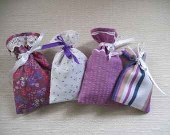 Handmade lavender sachets
